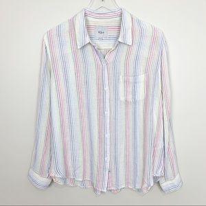 Rails | Charli Shirt Isla Stripe Rainbow Top